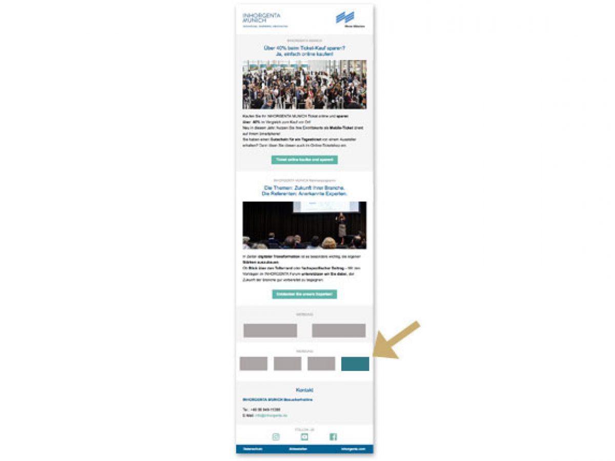 Quick Link im E-Mailing