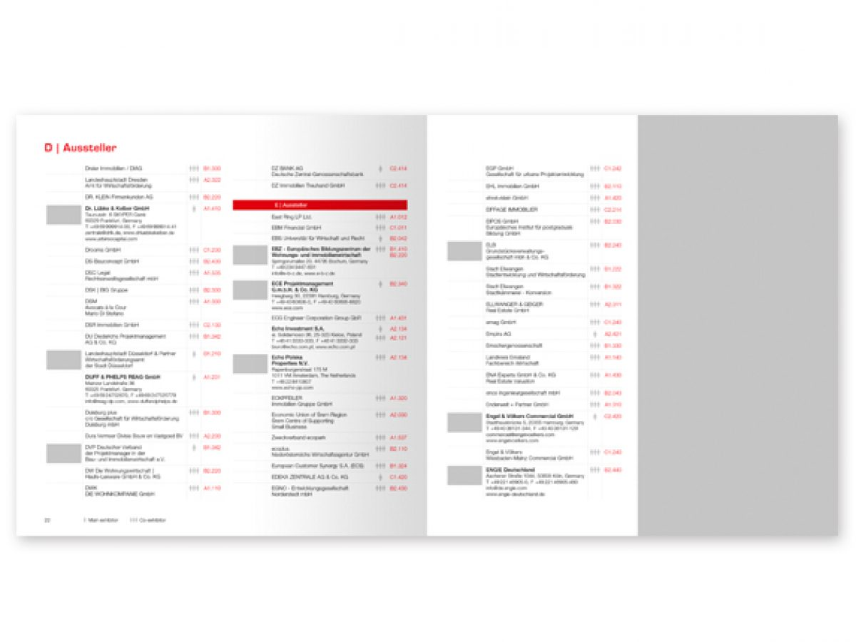 1/2 Anzeige im EXPO REAL Guide