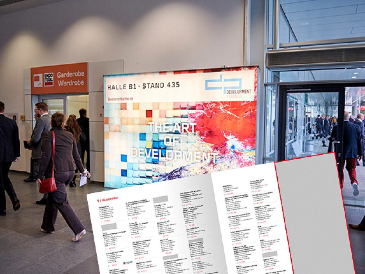 Advertising on site and in the EXPO REAL Summit Guide