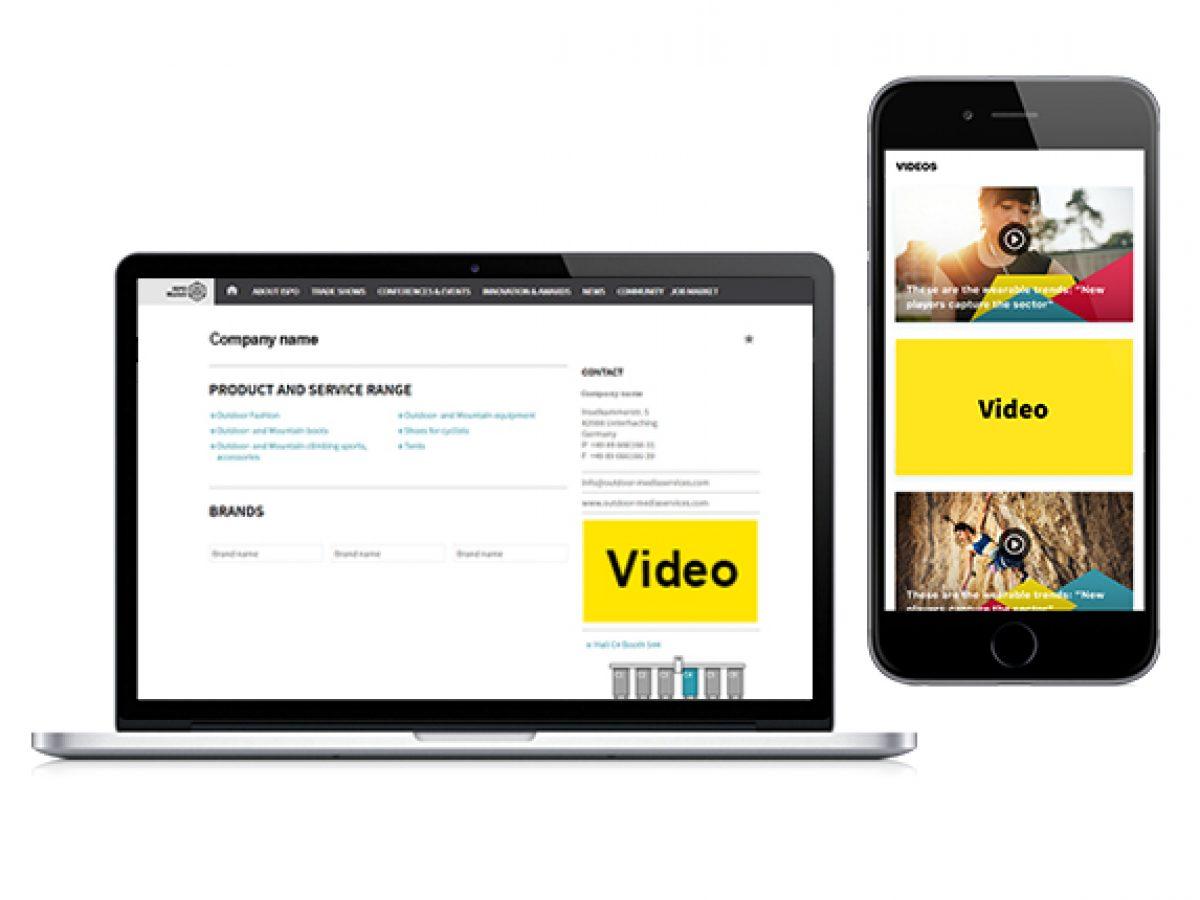 Embedded Video (App & online)