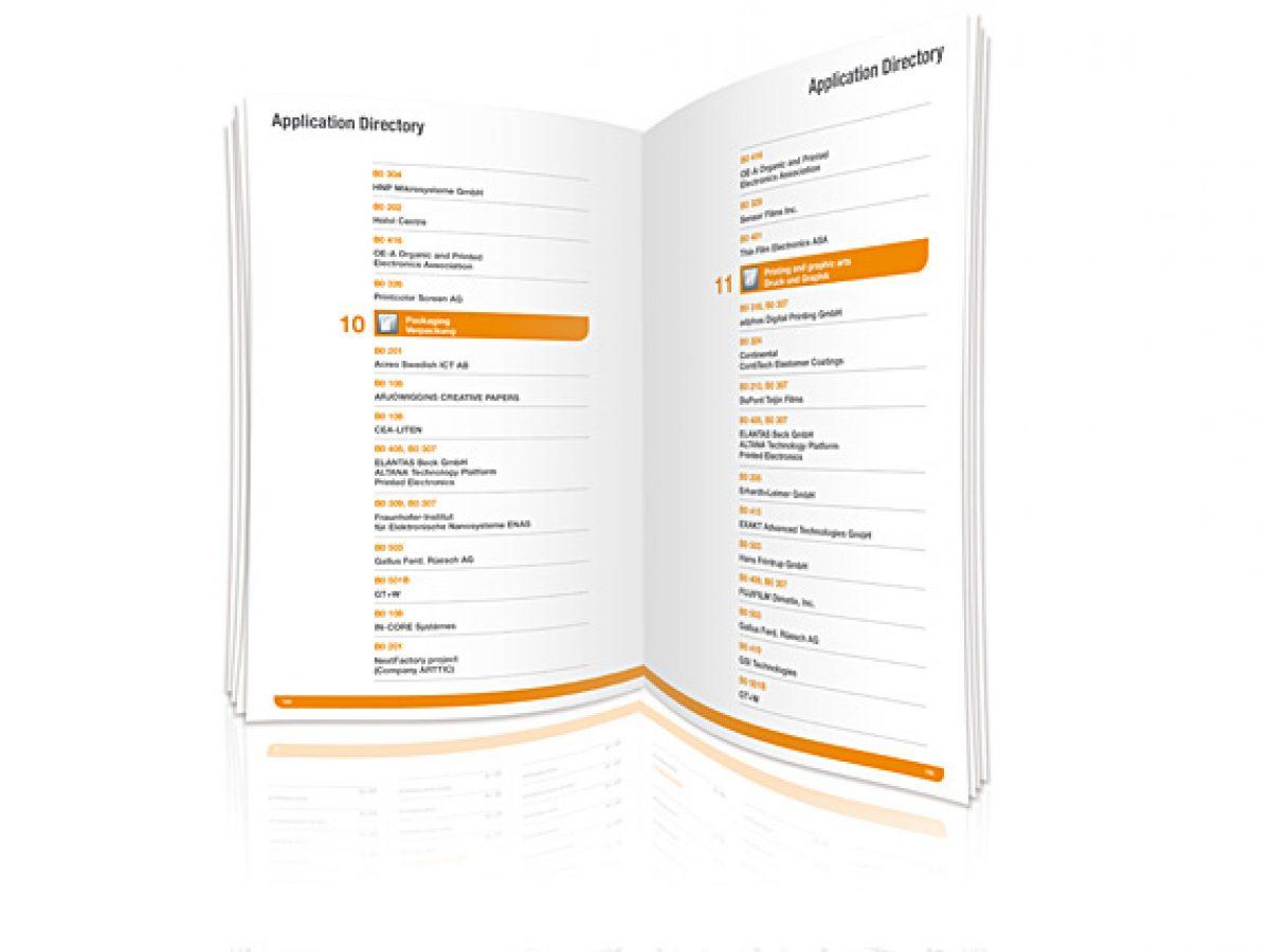 Anwendungsverzeichnis