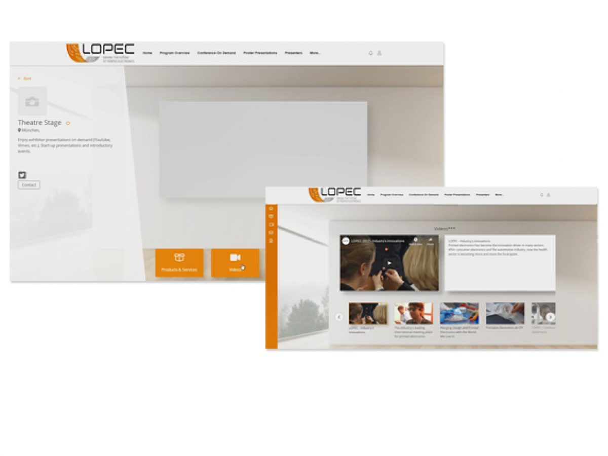 Produkt-/Unternehmensvideo im LOPEC ONLINE Forum