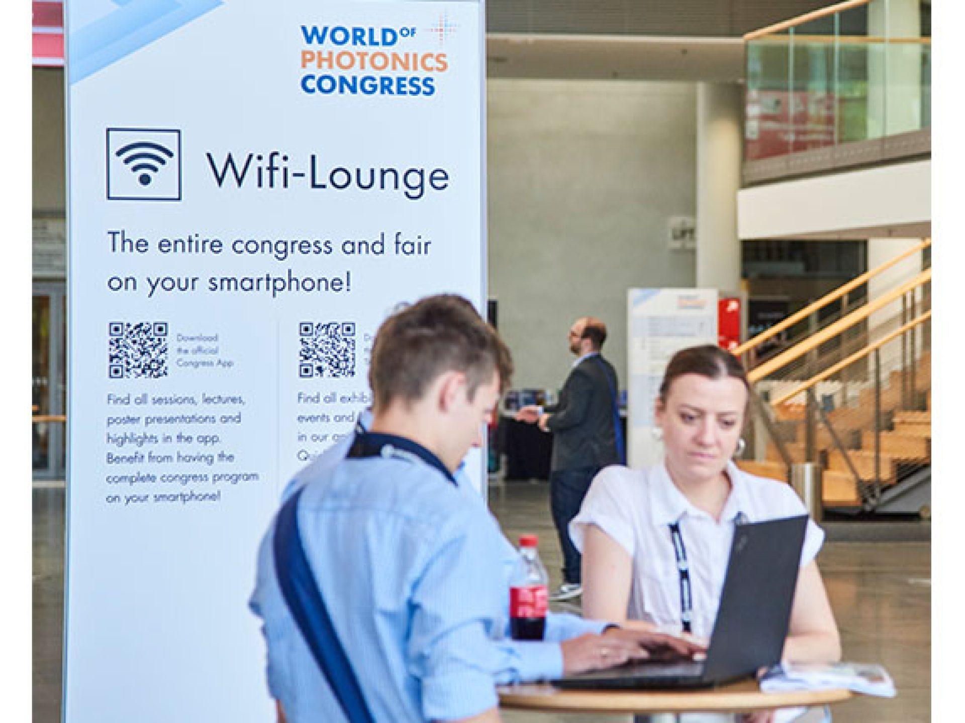 Sponsoring einer WLAN-Lounge