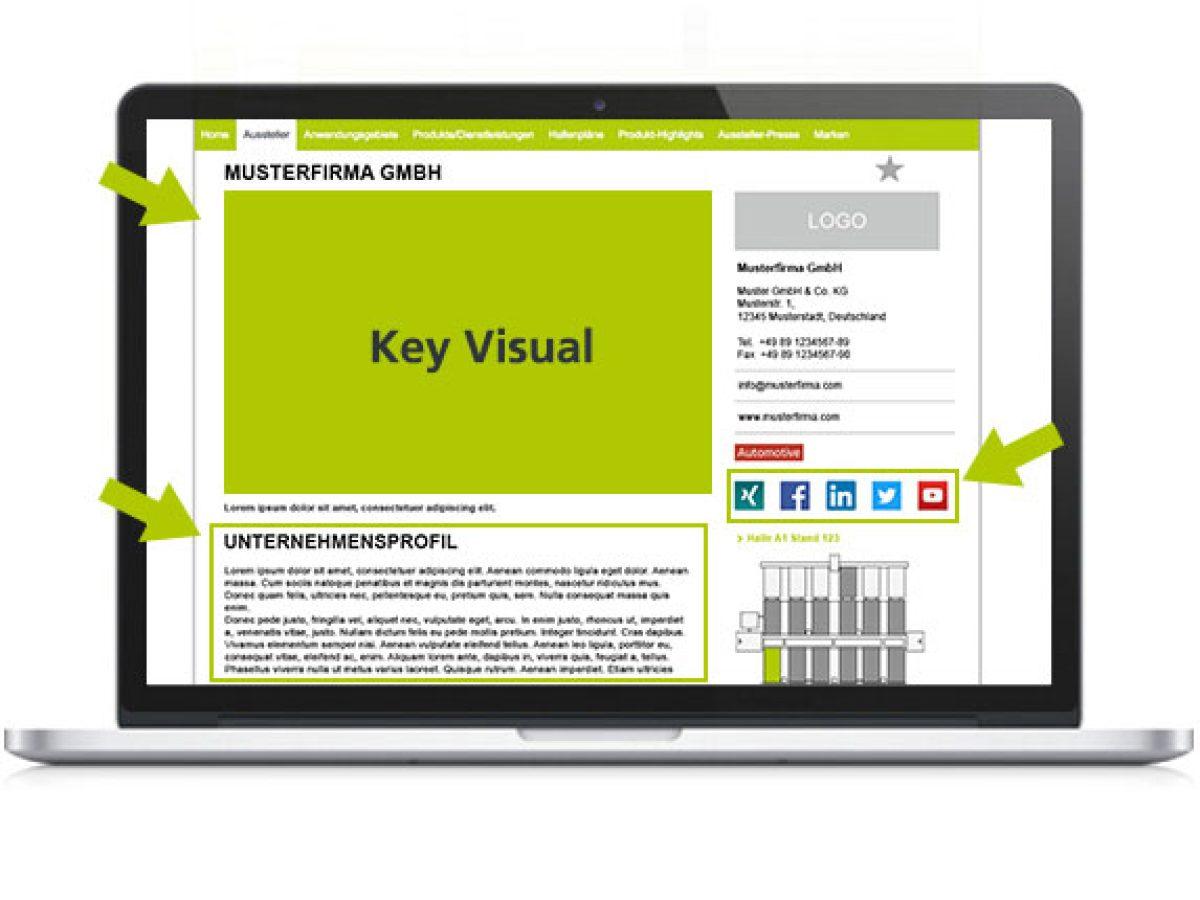 Unternehmens- und Produktpräsentation 1