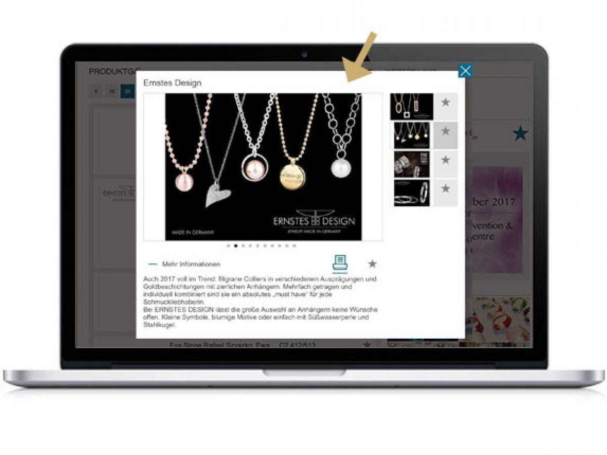 Produktpräsentation online