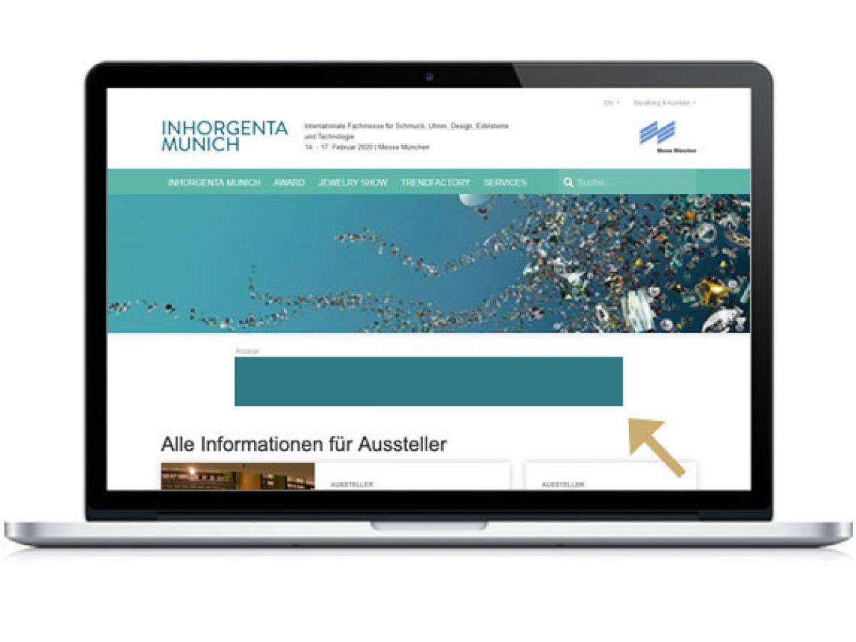 Super Banner auf inhorgenta.com