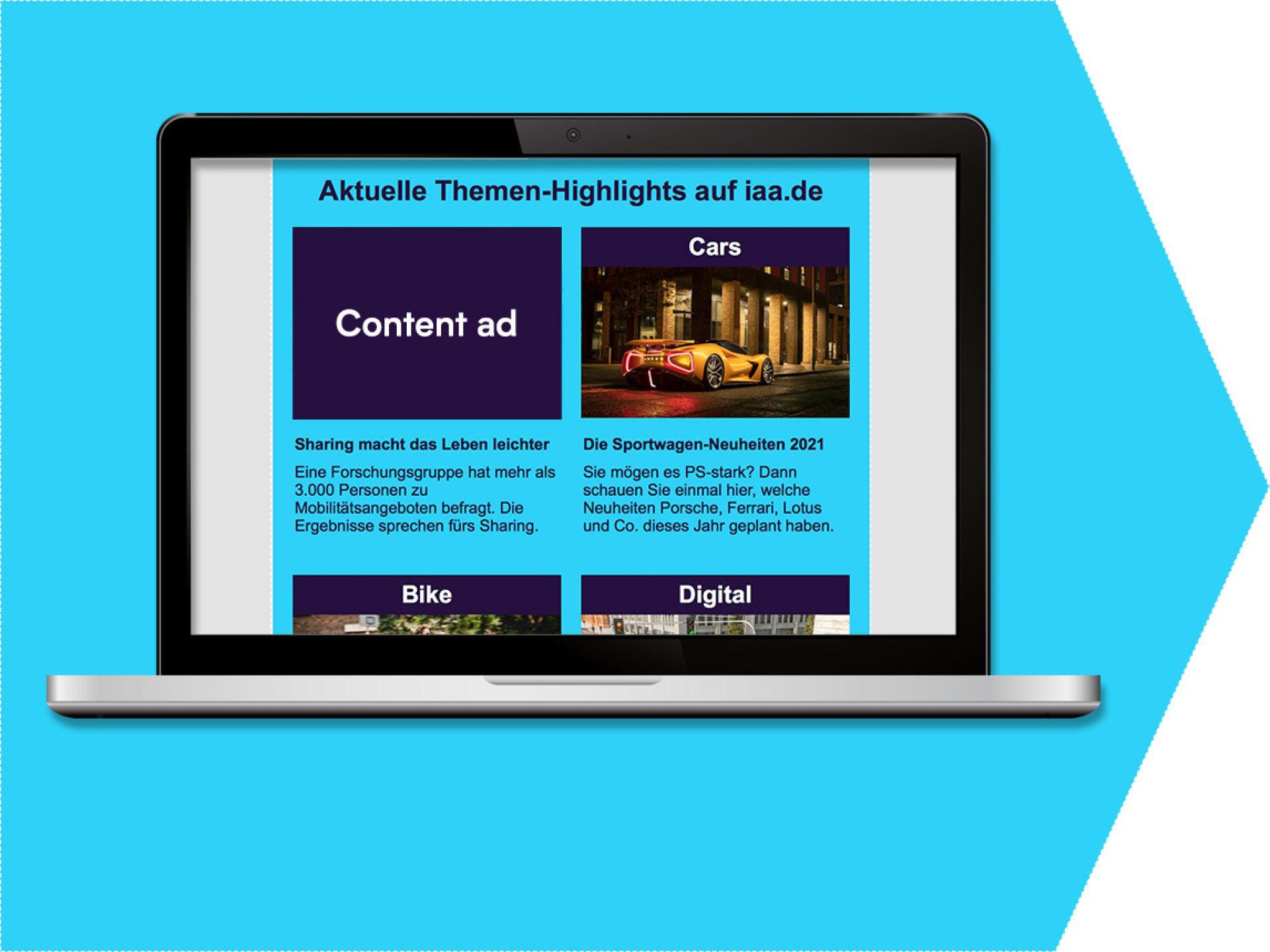 Content ad