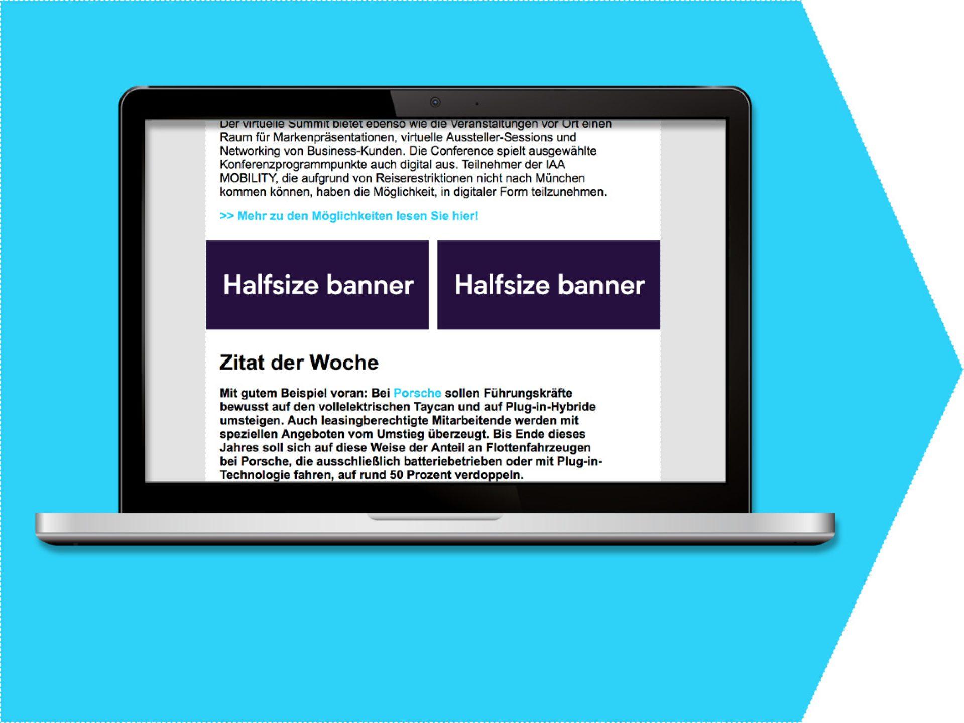 Halfsize banner