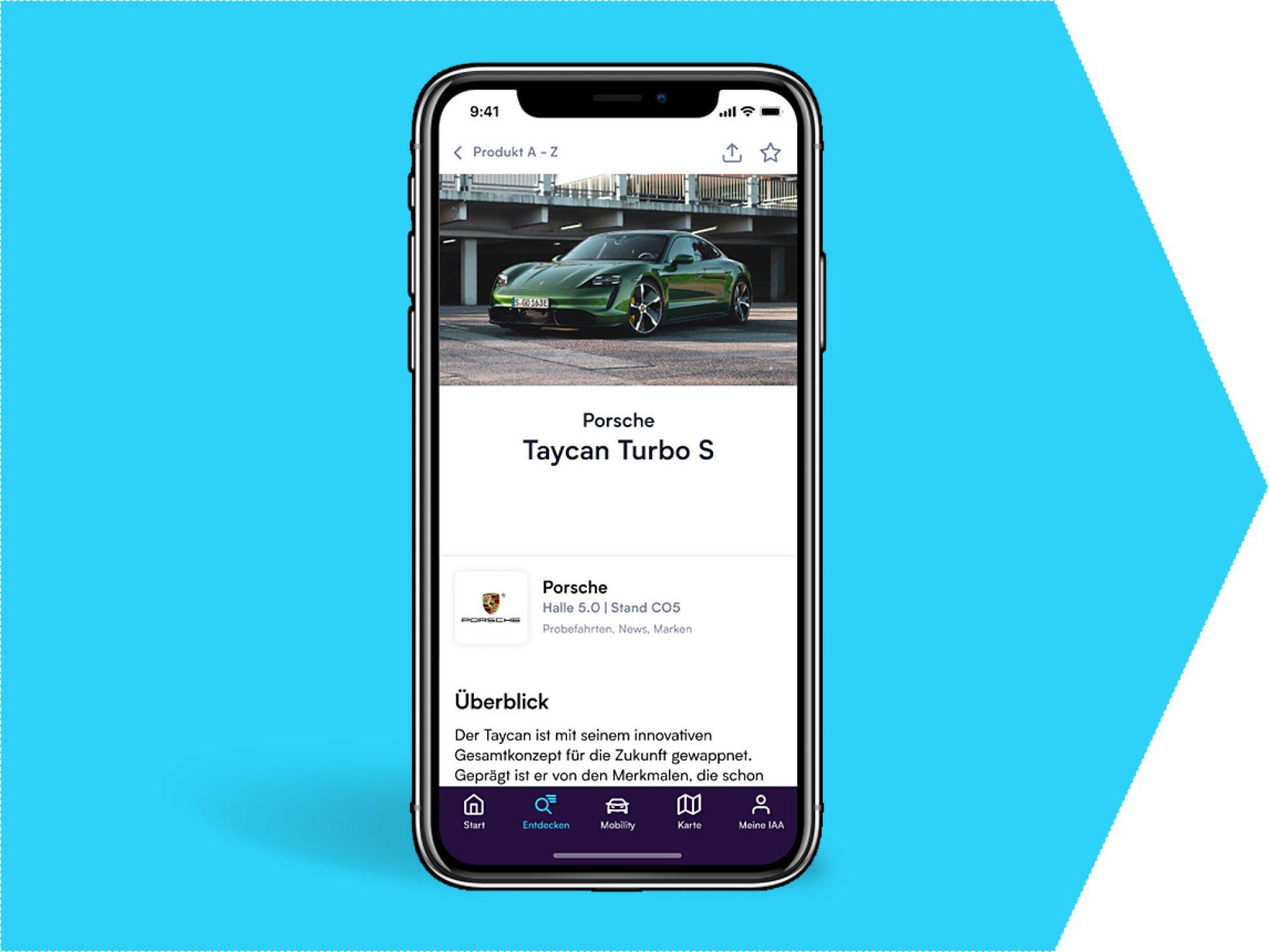 Produktpräsentation/Neuheit in der App