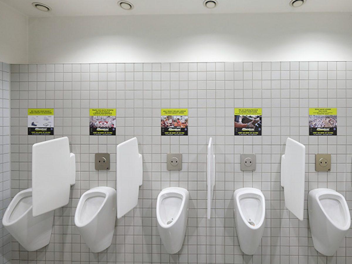 Sticker pissoirs