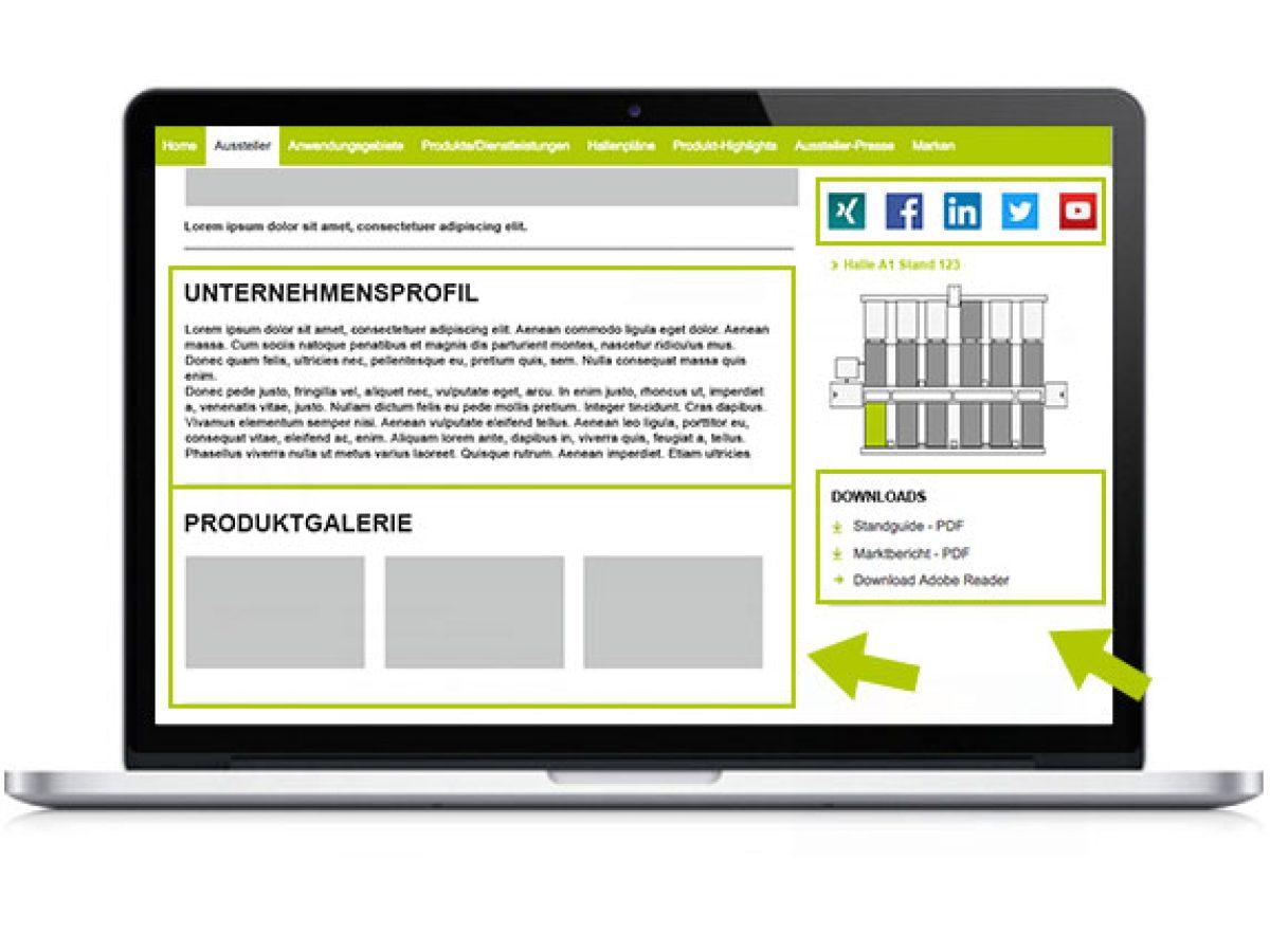 Unternehmens- und Produktpräsentation 2